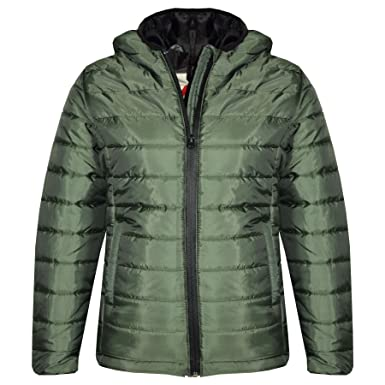 26bbcb061 Amazon.com  A2Z 4 Kids® Boys Jackets Kids Designer Olive Foam Padded ...