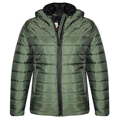 ab844807e1d5 A2Z 4 Kids® Boys Jacket Kids Designer s Foam Padded Olive Puffa ...
