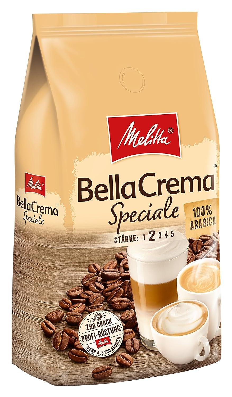 Melitta Ganze Kaffeebohnen, 100 % Arabica, mildes Aroma, leichter ...