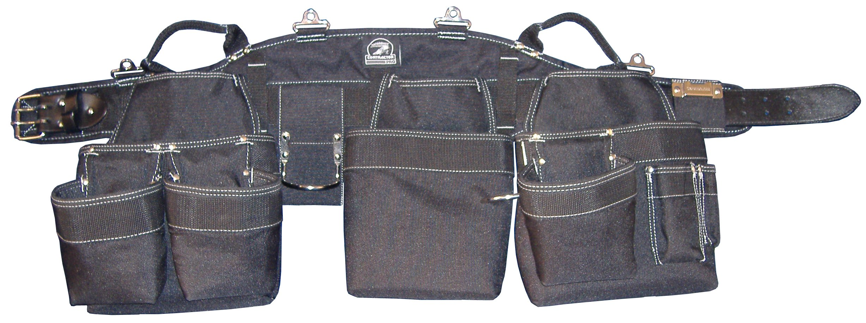 Gatorback B145 Carpenters Triple Combo w/Pro-Comfort Back Support Belt. Heavy Duty Work Belt (X-Large 40''-44'') by Gatorback (Image #8)