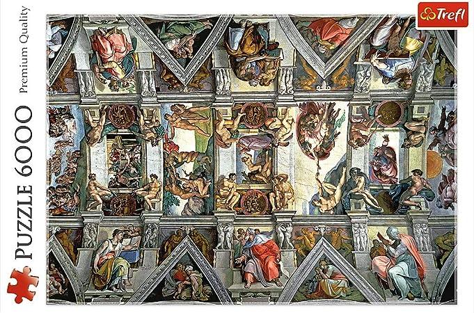 TREFL 65000 Puzzle Puzzle - Rompecabezas (Puzzle Rompecabezas, Niño/niña, Cartón, Multicolor, Polonia, CE, FSC, ISO 9001:2314): Amazon.es: Juguetes y juegos