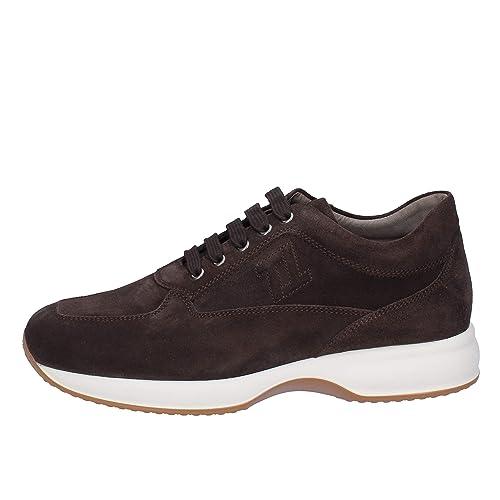 8cc09bf923963 TRIVER FLIGHT Sneaker Uomo Pelle Scamosciata Marrone 44 EU  Amazon.it  Scarpe  e borse