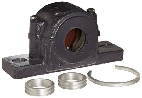 Nsk Saf509 Split Pillow Block Housing 2 Bolts Non Expanding Labyrinth Seals Regreasable Single Open Cast Iron Inch 1 7 16 Shaft Diameter 8 1 4 Base Length 2 3 8 Base Width 13 16 Base Height Pillow Block Bearings