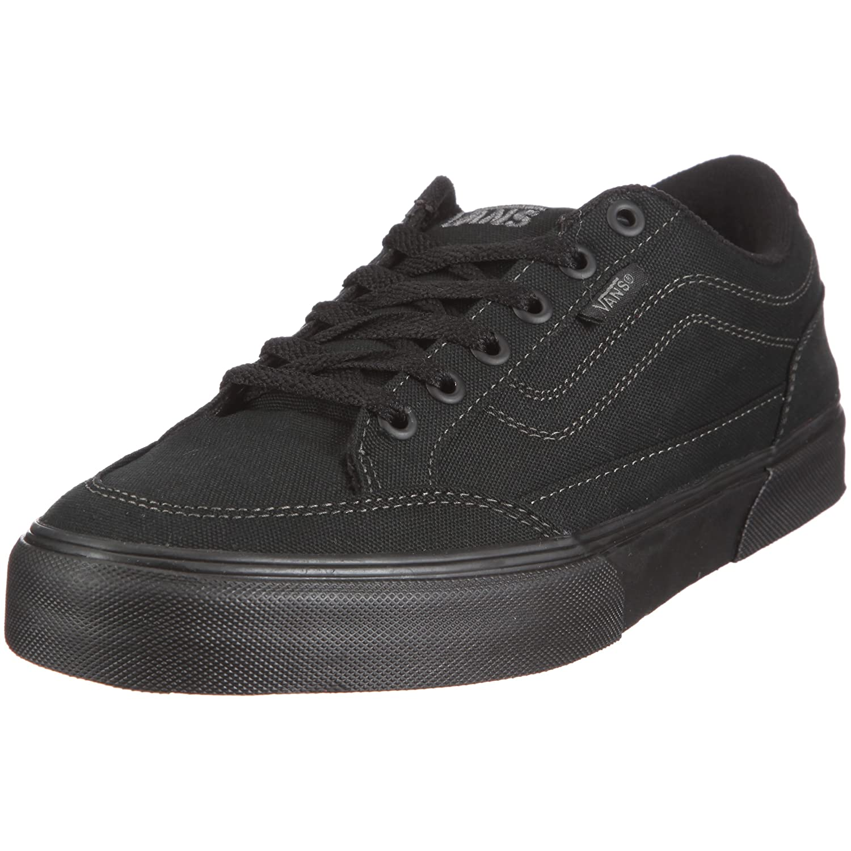 Vans Men's Bearcat Skate Shoes 12 M US Canvas Black