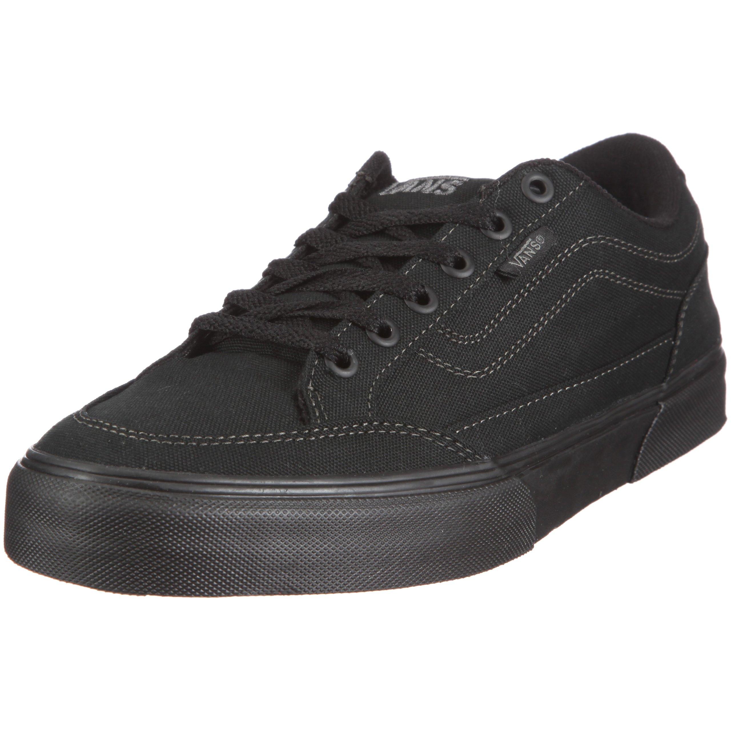 Vans Men Bearcat Sneakers Skate Shoes (6.5, (Canvas) Black/Black)