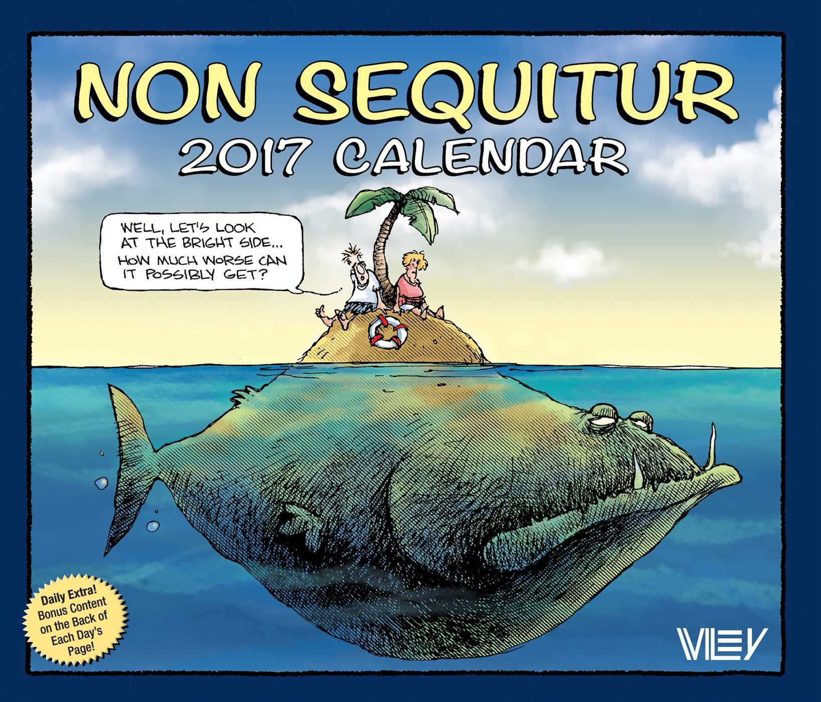 Sequitur 2017 Day Day Calendar product image