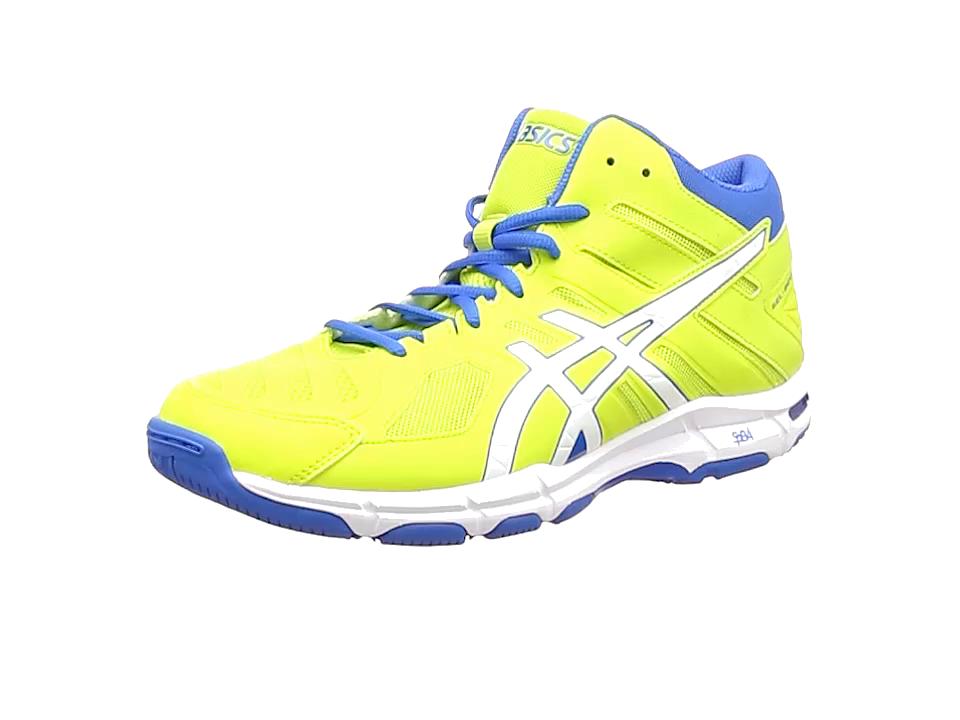 Asics Gel-Beyond 5 MT, Chaussures de Gymnastique Homme, Vert (Energy Green/White/Electric Blue), 47 EU