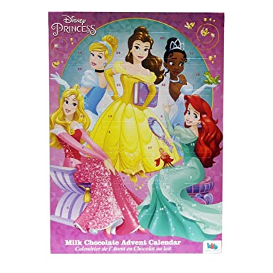 Disney Princess Christmas Chocolate Advent Calendar: Amazon.co.uk ...
