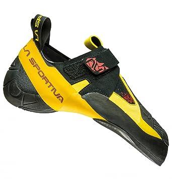 La Sportiva Skwama Schwarz-Gelb, Kletterschuh, Größe EU 37 - Farbe Black-Yellow Kletterschuh, Black - Yellow, Größe 37 - Schwarz-Gelb