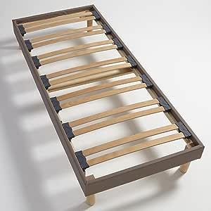 Atelier de Morphée Somier Déco, Beige, 60x140: Amazon.es ...