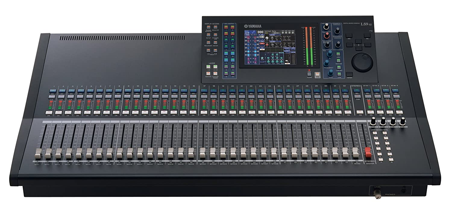 amazon com yamaha digital mixing console ls9 32 musical instruments rh amazon com Yamaha LS9 Lamp Yamaha LS9 Lamp