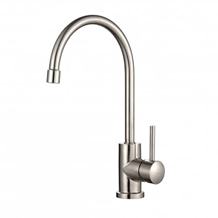 Kraus KPF-2160 Single Lever Stainless Steel Kitchen Faucet - Touch ...