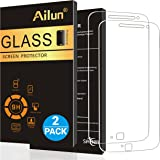 Moto G4 Plus Screen Protector,[2Packs]by Ailun,9H Hardness,Ultra Clear,Anti-Scratch,Case Friendly,Tempered Glass for Moto G4 Plus,NOT for Moto G4,Moto G4 Play,Moto Z Play,LG G4-Siania Retail Package
