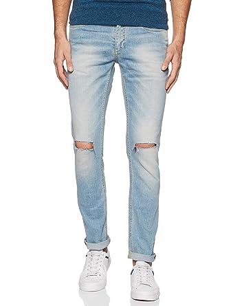 57a3a326 Jack & Jones Men's Ben Skinny Fit Jeans (5712613986767_Blue Denim_38W ...