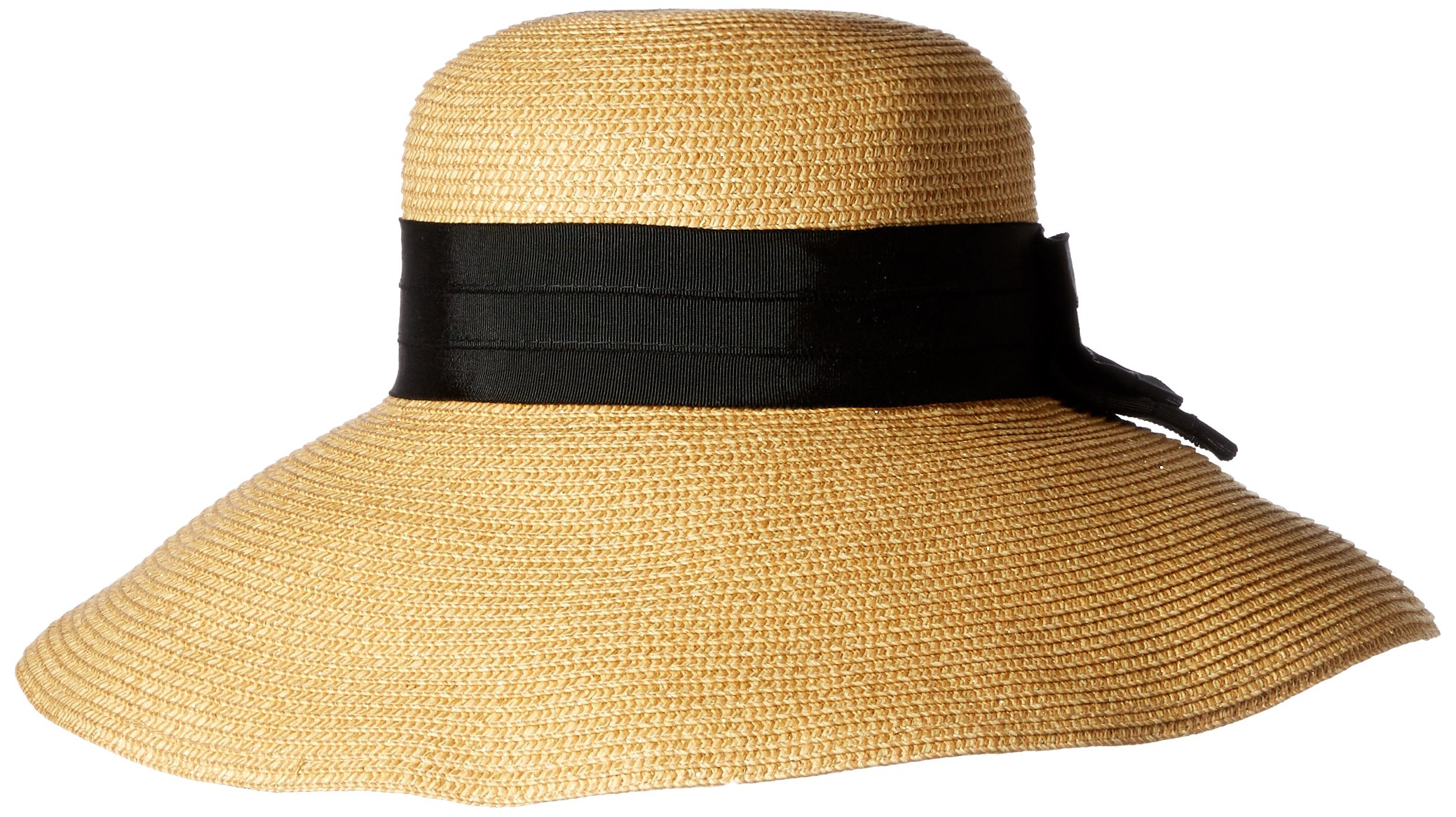 Gottex Women's Vesper Large Brim Sunhat Packable, Adjustable and Upf Rated, Gold, One Size