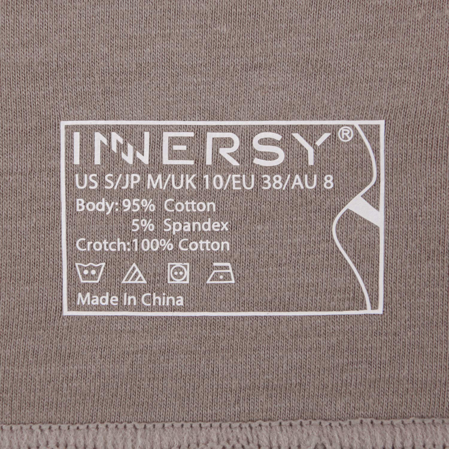 INNERSY Ladies Underwear High Waist Tummy Control Cotton Pants Slimming Shaping Briefs Multipack