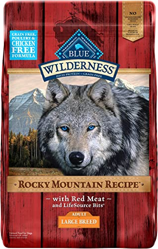 Blue Buffalo Wilderness Rocky Mountain Recipe High Protein Grain Free