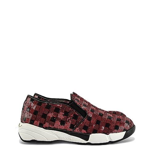 Pinko Sneaker in Paillettes Sequins Rosso - 39  Amazon.it  Scarpe e ... a52ff203a65