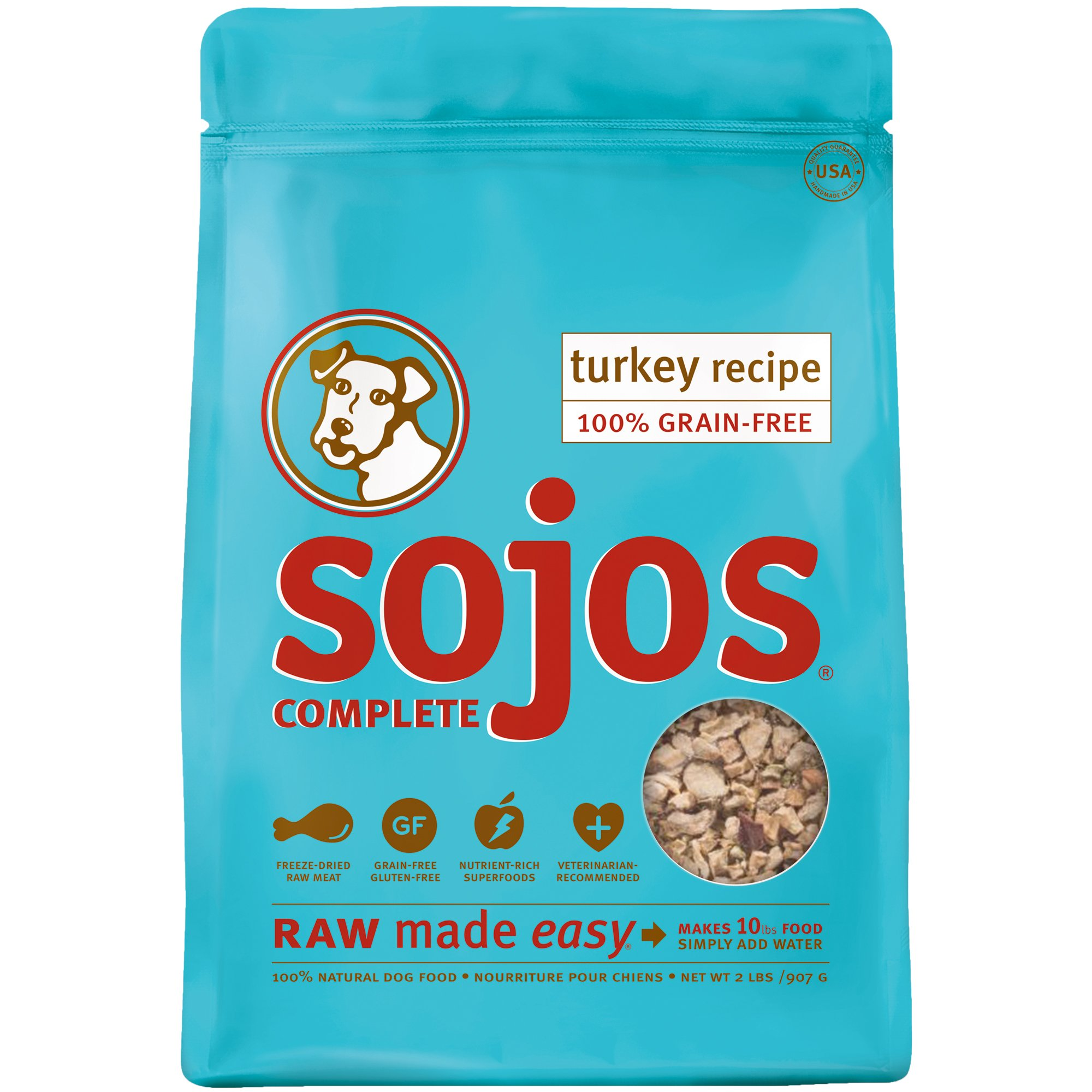 Sojos Complete Grain Free Dog Food Mix