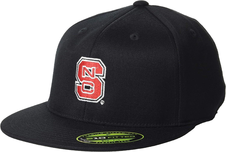 Ouray Sportswear NCAA Unisex-Adult Flexfit 210 Flat Brim Cap
