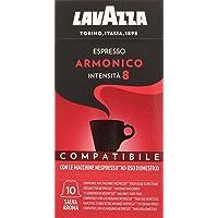 Lavazza Cápsulas de Café Compatibles Nespresso Espresso Armonico