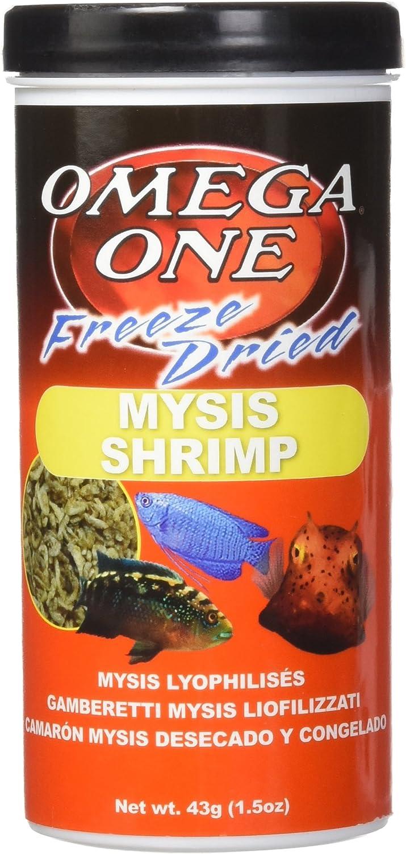 Omega One Freeze Dried Mysis Shrimp, 1.5 oz