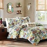 Mi-Zone Tamil Comforter Mini Set, Twin/ Twin X-Large, Multi