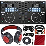 Gemini GMX Series Professional Audio DJ Media Controller System w/Headphones & Basic Bundle