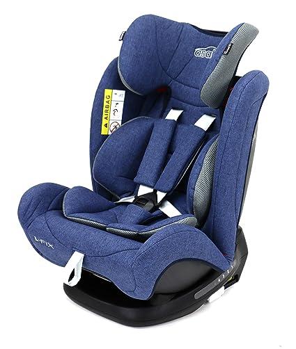 Asalvo - Silla de auto coche 1 2 3 L Fix, Color Azul: Amazon ...