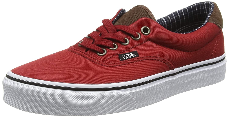 Vans Unisex Era 59 Skate Shoes B019HDO6PK 13.5 B(M) US Women / 12 D(M) US Men Red Dahlia/True White