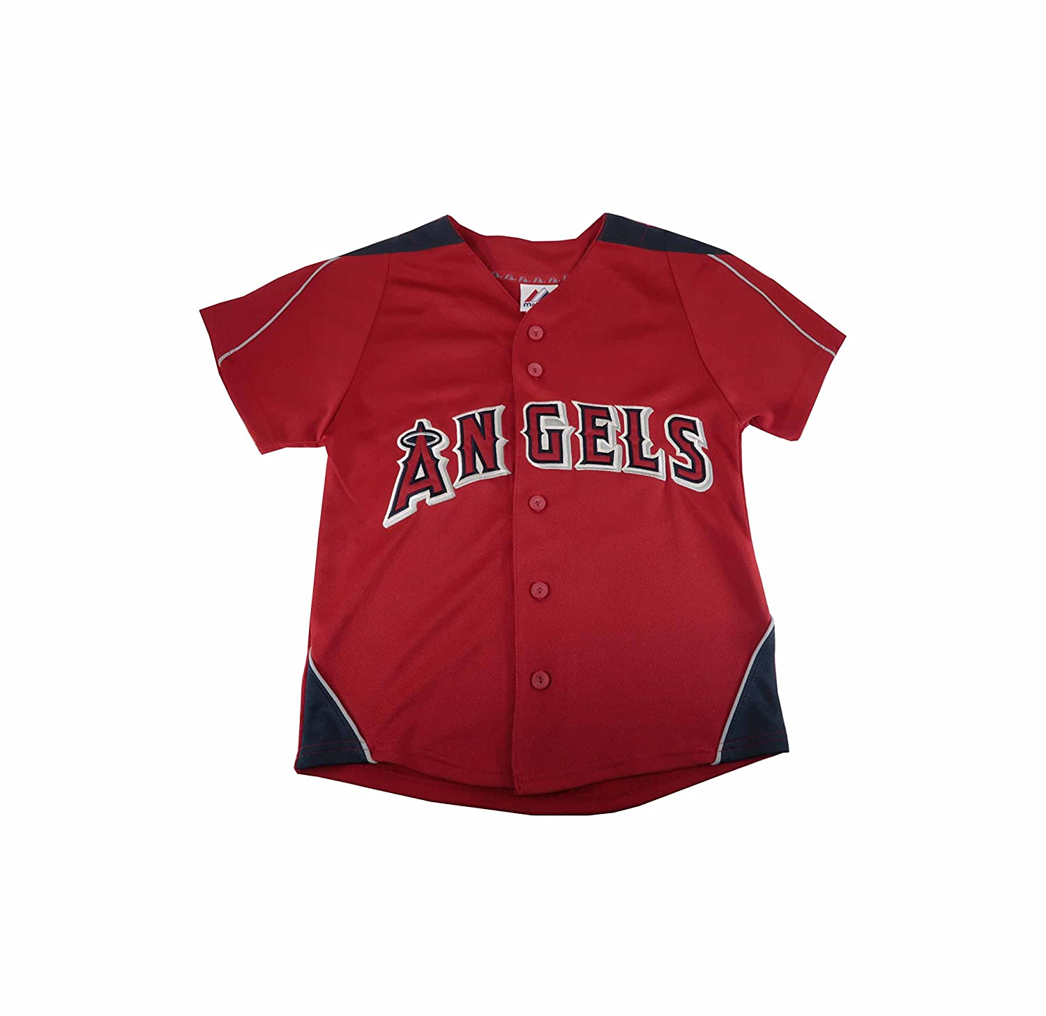 Jacket Big Boys//Juniors Angels Red Baseball Jersey