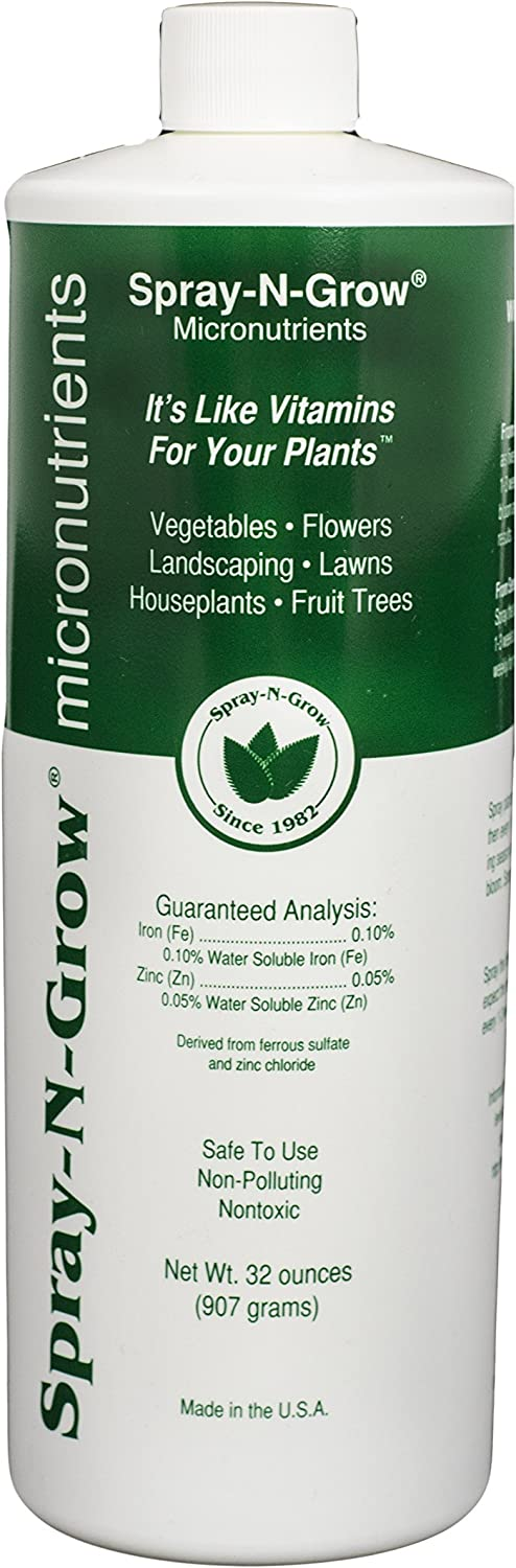 Spray-N-Grow CSNGQ Micronutrients, 1-Quart