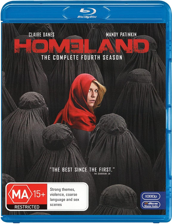 Homeland Season 4 | 3 Discs