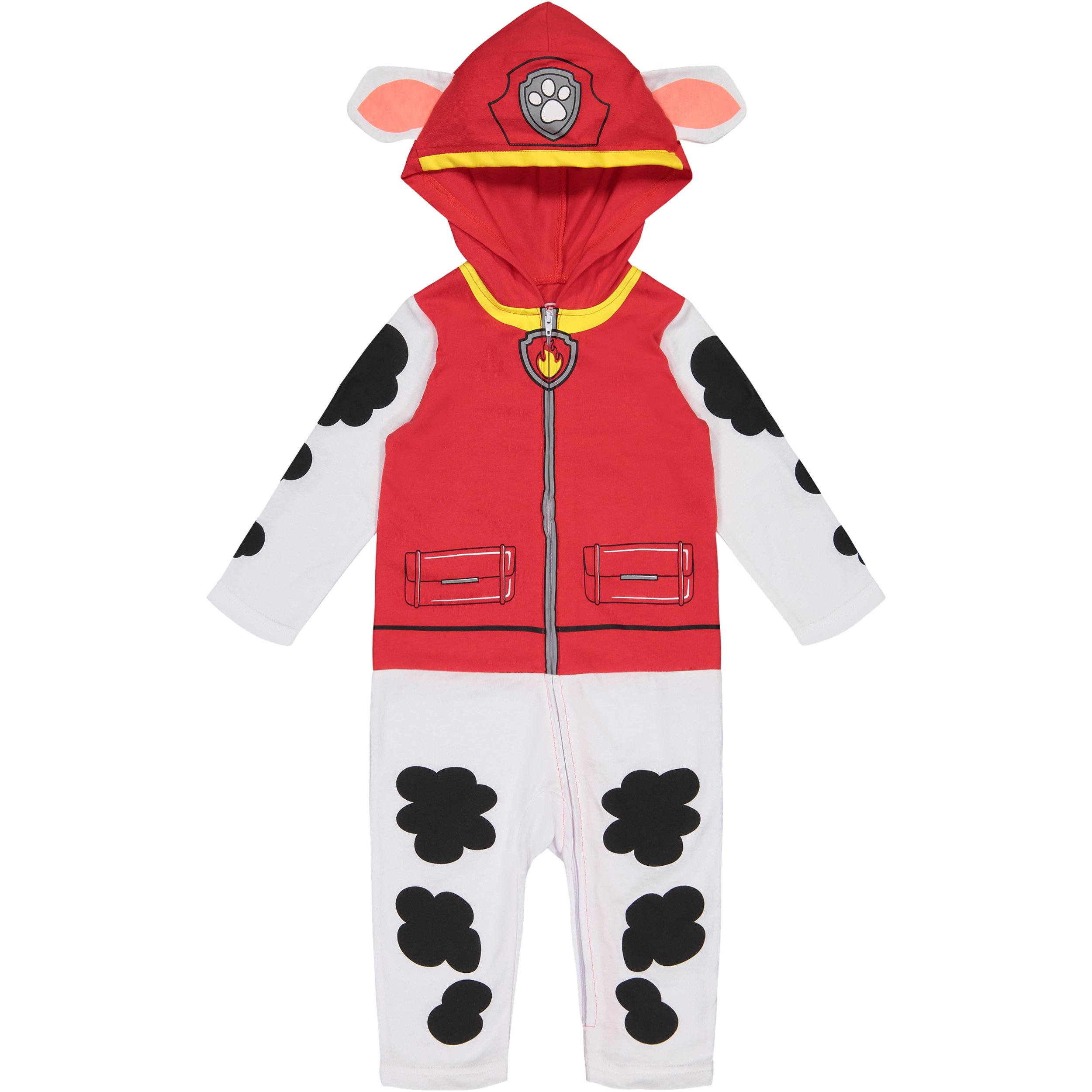 Paw Patrol Marshall Baby Boys' Costume Coverall with Hood (18 Months)