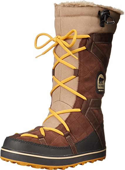 Sorel Glacy Explorer Shortie, Women's Boots, Brown (Tobaco 256), 3 UK