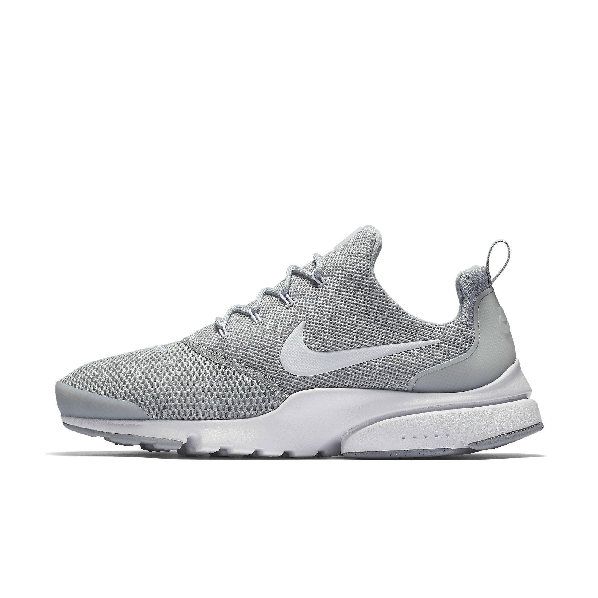 71259524a58dd Nike New Men's Presto Fly Running Sneaker (9, Wolf Grey)