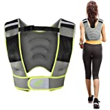 RitFit Adjustable Weighted Vest with Neoprene Fabric for Men&Women, 8lbs/10lbs/12lbs/15lbs/20lbs, Weight Vest for…