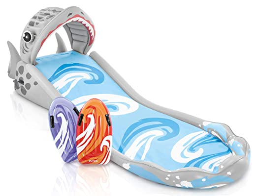 INTEX Scivolo Gigante Surf, Colore Rosso/Blu, 460x168x157 cm, 57159: Amazon.it: Giochi e giocattoli