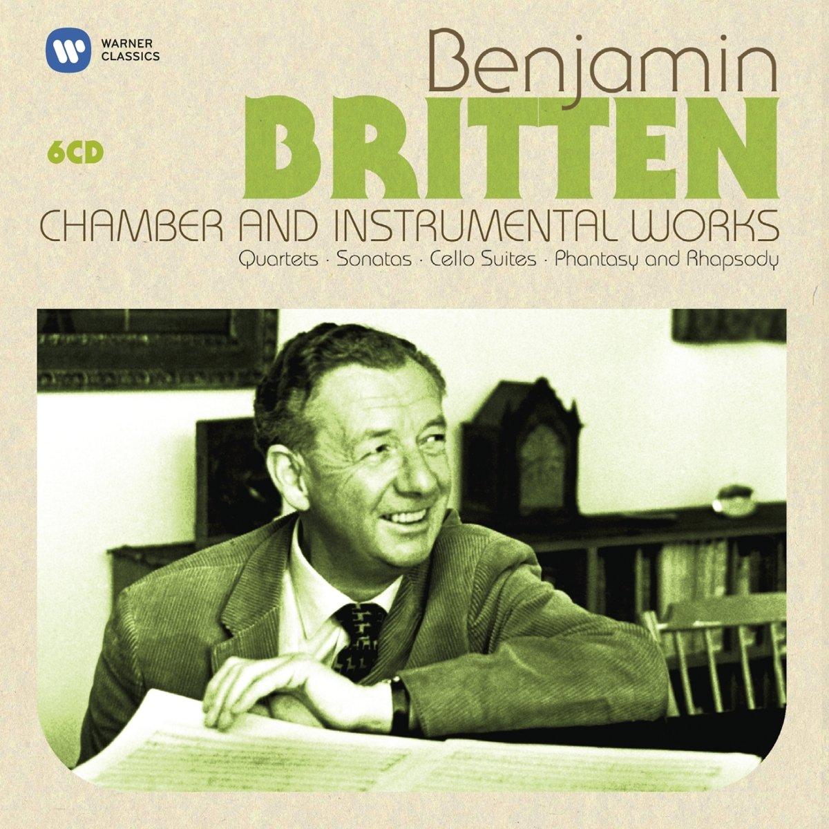 CD : Sankt Annae Girls' Choir - Britten: Chamber & Instrumental Works / Various (Boxed Set, 6PC)