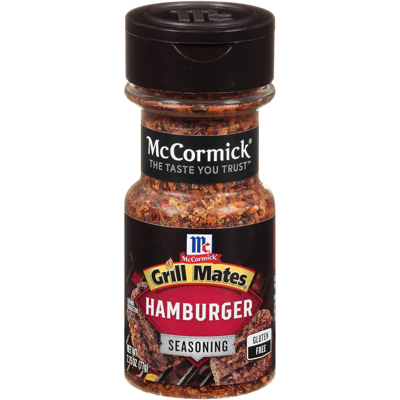 McCormick Grill Mates Hamburger Seasoning, 2.75 oz