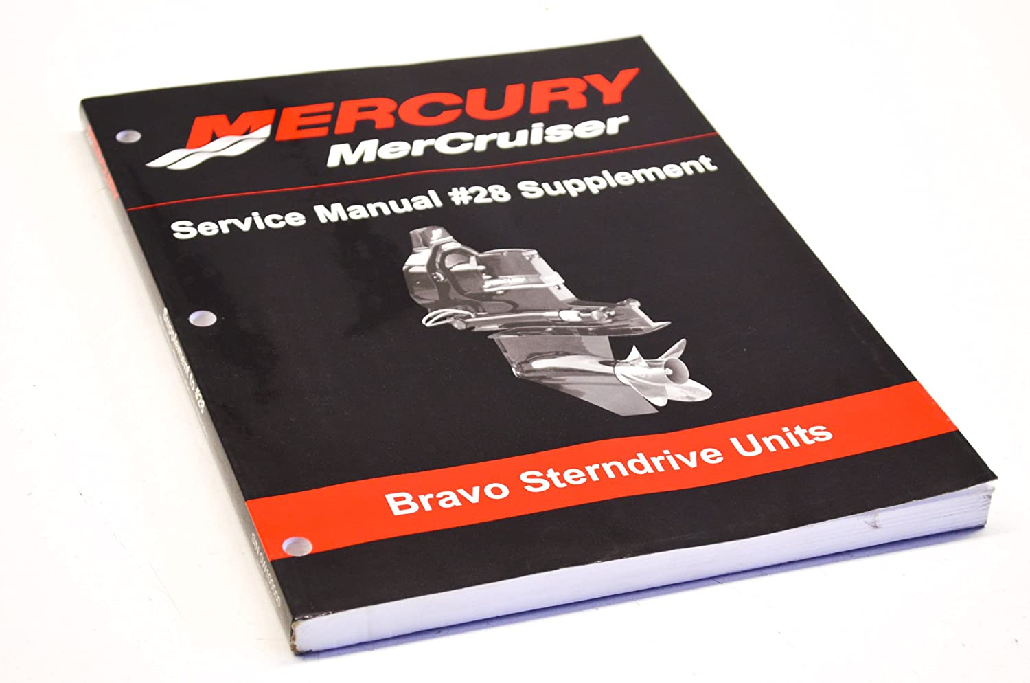 Amazon.com: Mercury 90-863160030 Service Manual #28 Supplement QTY 1:  Automotive