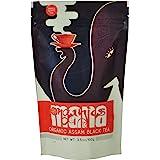 Certified Organic Assam Tea From Mana Organics, Origin Organic Black Tea Packed Fresh At Chota Tingrai Tea Estate. Makes 50 Cups. (Grade Tgfop1)