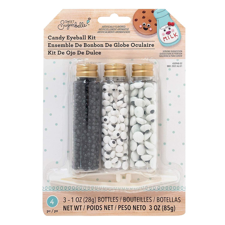 Sweet Sugarbelle Candy Sprinkles Kit-Eyeballs Cookie Supplies, None (4 pack) by Sweet Sugarbelle