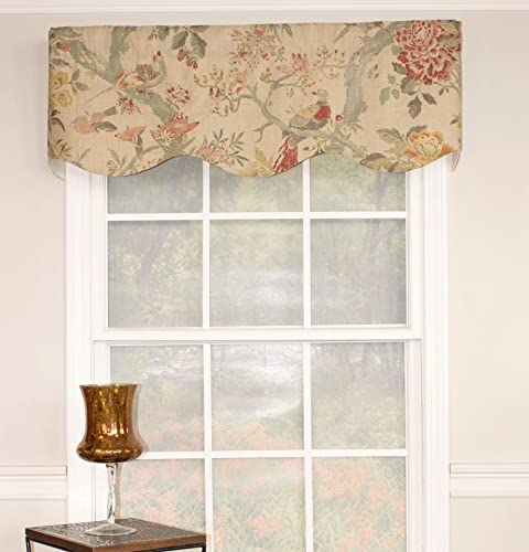 RLF HOME 19496-WO Arielle Provance Valance, 50 X 15 , Woodland
