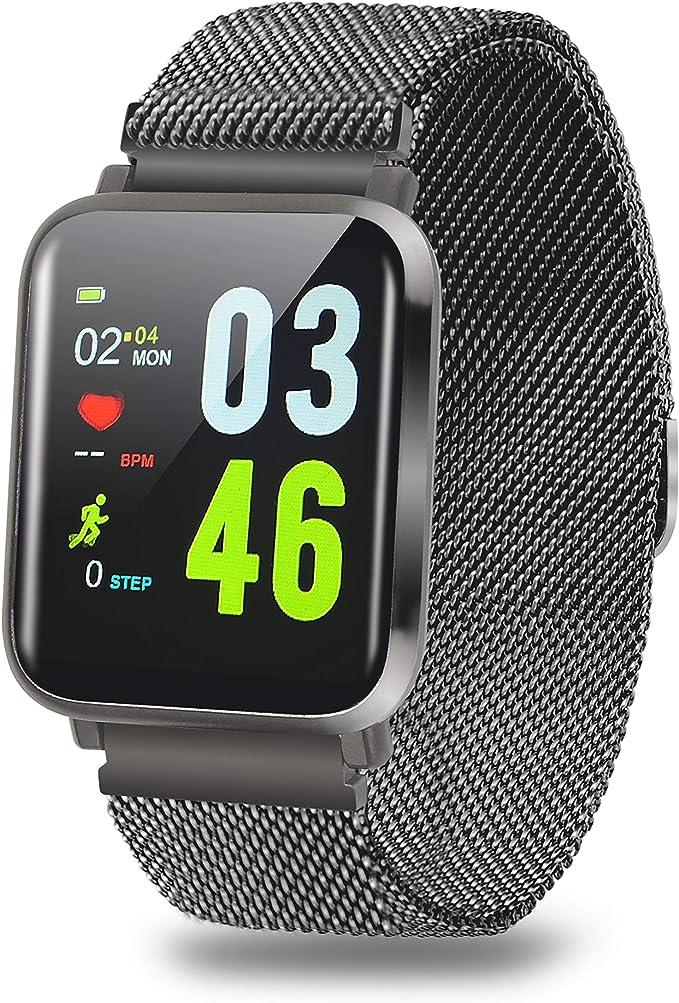 TDOR Smartwatch Mujer Android, Llamadas y Whatsapp, Pulsera de ...