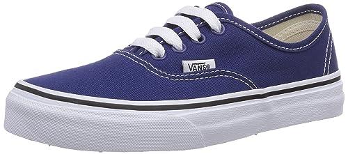 Vans AUTHENTIC - zapatilla deportiva de lona infantil  Amazon.es  Zapatos y  complementos 6deecc89776aa