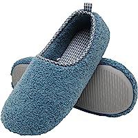ChayChax Zapatillas de Estar por Casa para Mujer Invierno Cálido Pantuflas Memoria Espuma Ligero Comodo Suave Interior…