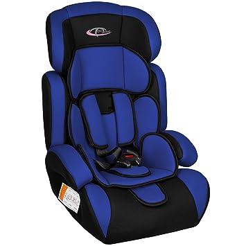 TecTake Group 1/2/3 Combination Car Seat (Blue/Black): Amazon.co.uk