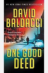 One Good Deed Kindle Edition