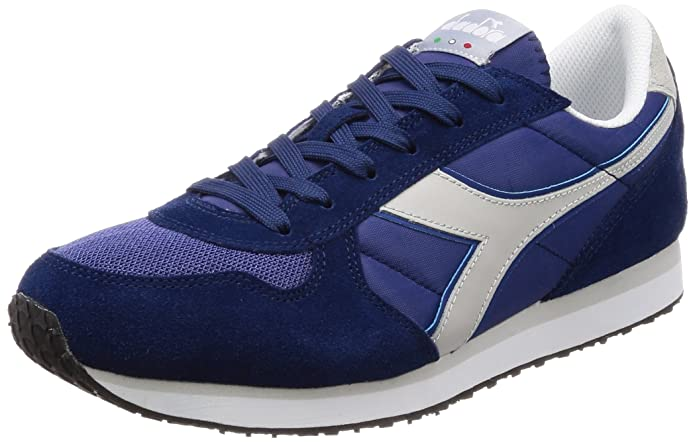 Diadora K-Run II, Sneaker a Collo Basso Uomo, Verde (Olivine/Estate blu/Whisper Wh), 39 EU